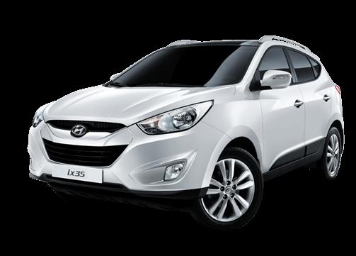 Hyundai IX 35 hvit